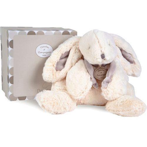 Doudou et compagnie Pluszowy królik w kolorze beżowym duży