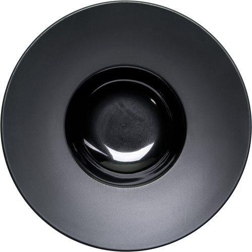 Talerz głęboki gładki porcelanowy czarny marki Stalgast
