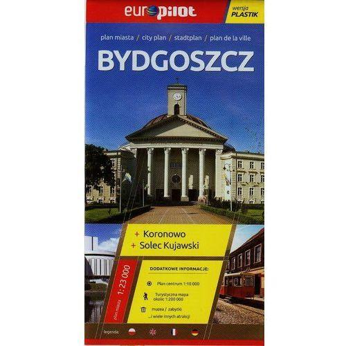 Bydgoszcz, Koronowo, Solec Kujawski. Plan miasta 1:23 000. Europilot wersja plastik, książka z kategorii Geografia
