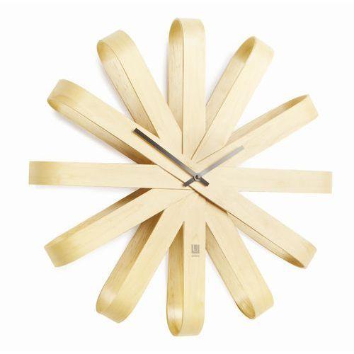 Umbra Zegar ścienny ribbonwood natural 50 cm