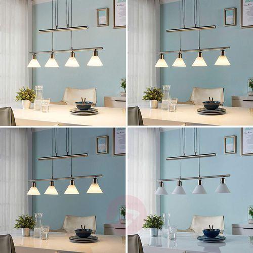 Lampa wisząca LED Eleasa, kolor niklu, easydim (4251096531435)