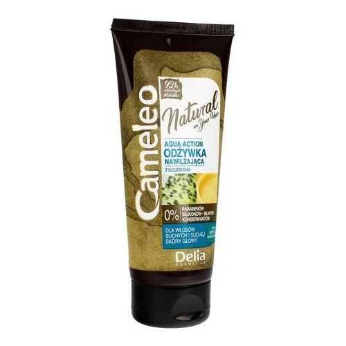 cosmetics cameleo natural aqua action odżywka nawilżająca do włosów 200ml marki Delia