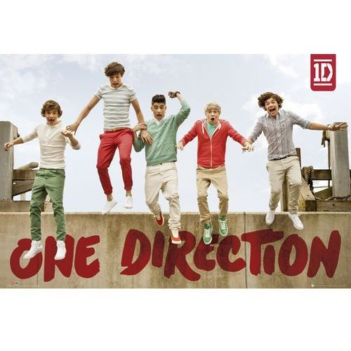 One Direction Jumping - plakat (5028486173730)