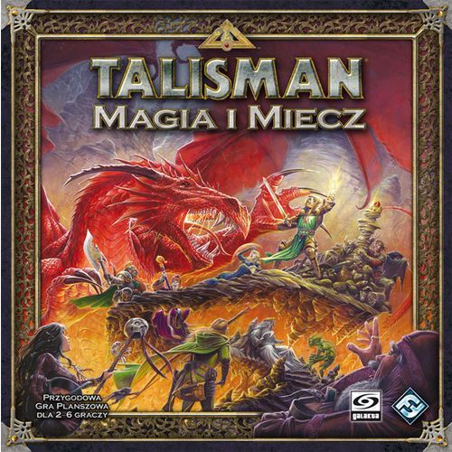 GALAKTA Gra Talisman - Magia i Miecz