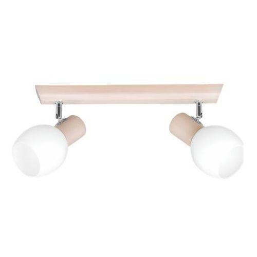 Lumen Light Ramos - Buk w kolorze bielonym, kolor Buk