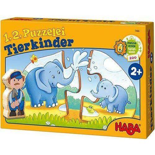 Puzzle 1,2 - Małe Zwierzaki
