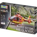 Model helikoptera do sklejania  04986, airbus ec-135 air-glaciers, 1:72 marki Revell