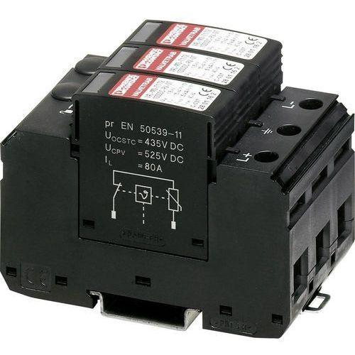 Ogranicznik ochrona przed przepięciem: system fotowoltaiczny val-ms-t1/t2 1000dc-pv/2+v 2801160 15 ka marki Phoenix contact