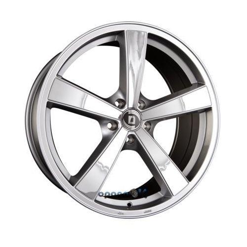 Diewe wheels trina argentoinox - silber mit edelstahlinlays einteilig 8.00 x 18 et 45