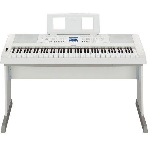 Yamaha DGX 650 WH keyboard z ważoną klawiaturą (88 klawiszy), biały - produkt z kategorii- Keyboardy i syntezatory