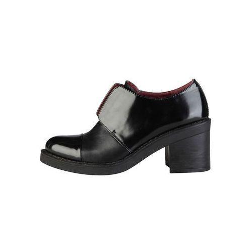 Płaskie buty damskie ANA LUBLIN - ETHEL-99, ETHEL_NERO-40