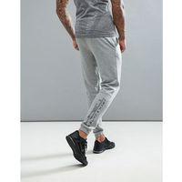Jack & Jones Tech Slim Fit Training Joggers in Tech Dry Fabric - Grey, kolor szary