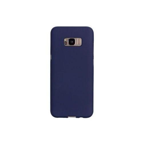 Samsung Galaxy S8 Plus - etui na telefon Mercury Goospery Soft Feeling - granatowy, ETSM490GMSFDBL000