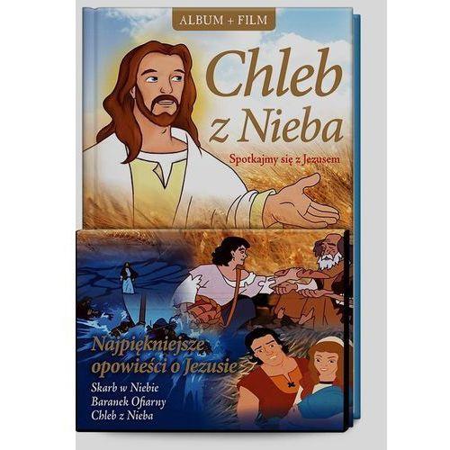 OKAZJA - Śnieżkowska-bielak elżbieta Chleb z nieba. spotkajmy się z jezusem + film dvd