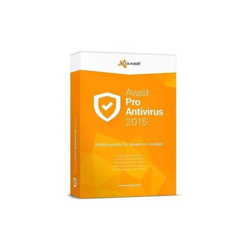 avast! Pro Antivirus 2015 1PC 1rok - produkt z kategorii- Programy antywirusowe, zabezpieczenia