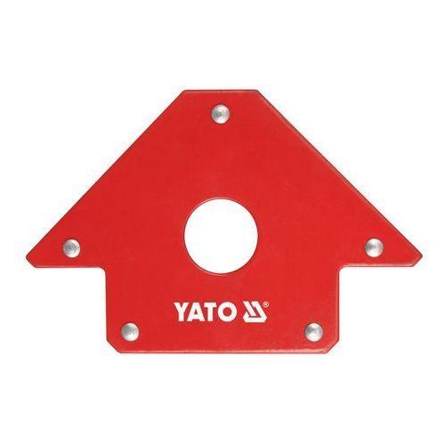 Kątownik spawalniczy Yato magnetyczny 102 x 155 x 17 mm, YT-0864