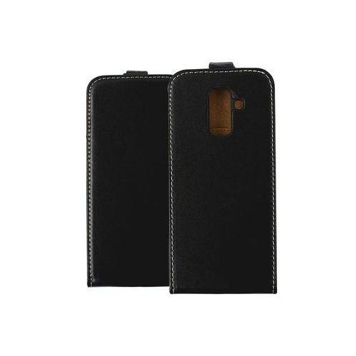 Samsung Galaxy A6 Plus (2018) - etui na telefon Forcell Slim Flexi - czarny