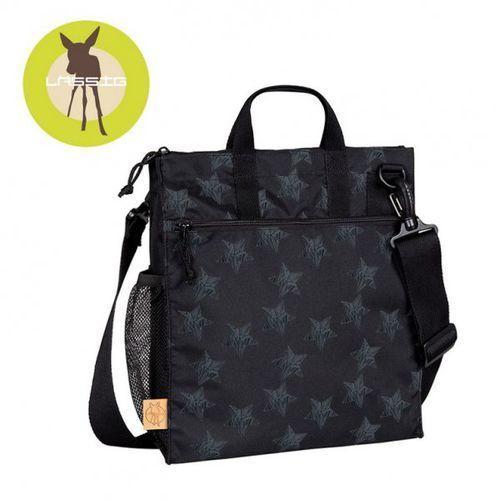 casual label torba do wózka reflective star black marki Lassig