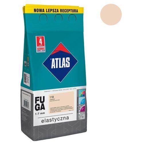 Fuga cementowa 118 jaśminowy 5 kg ATLAS