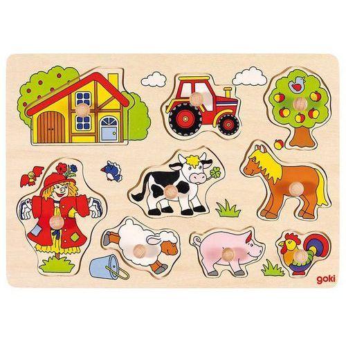 Puzzle z uchwytami Farma - sprawdź w wybranym sklepie