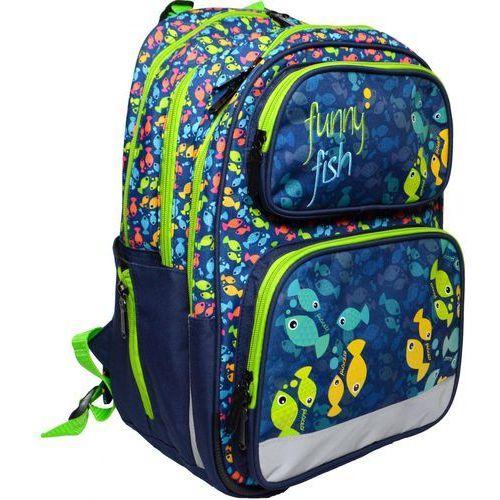 anatomiczny plecak ergo kids fish marki Karton p+p