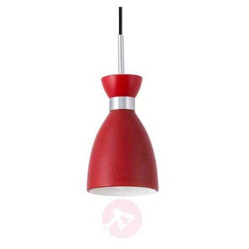 Kanlux Lampa wisząca retro hanging lamp 23997 1x20w e14 czerwowa