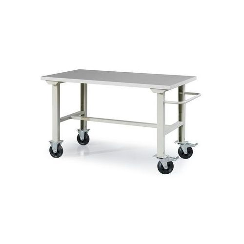 Mobilny stół roboczy SOLID 400, 1500x800 mm, winyl