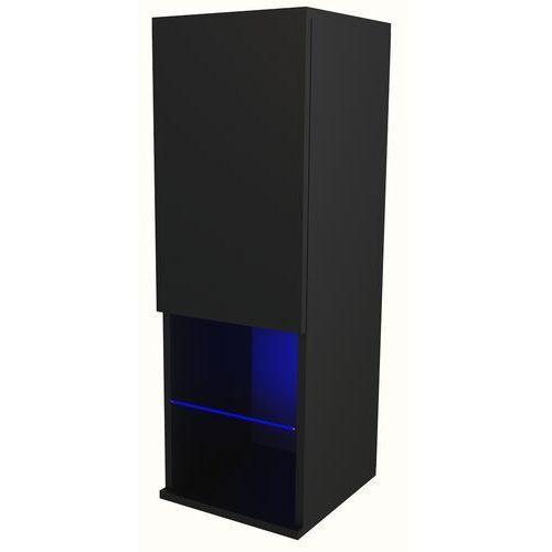 Witryna Carla LED czarny mat, AD-0080