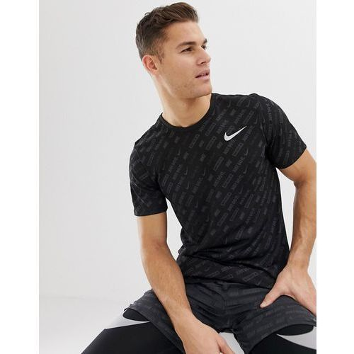 just do it all over print in black aa9384-010 - black, Nike running