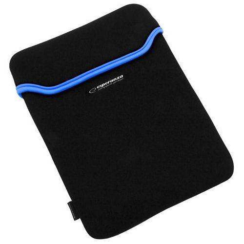 Esperanza ETUI NA TABLET 9,7 CALI BLACK/BLUE (5901299903131)