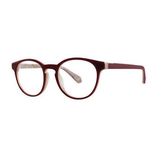 Zac posen Okulary korekcyjne rosalia oxbld