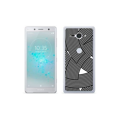 etuo Fantastic Case - Sony Xperia XZ2 Compact - etui na telefon Fantastic Case - biało-czarna mozaika