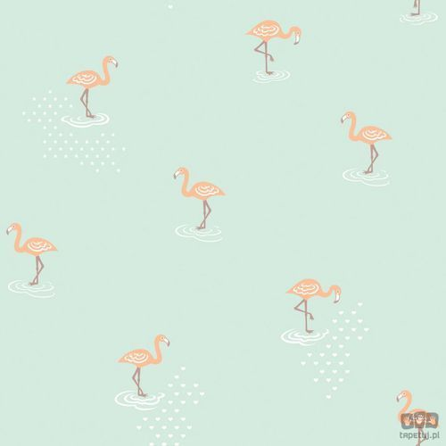 Tapeta ścienna flamingi Jack 'N Rose Junior JR2007 Grandeco Bezpłatna wysyłka kurierem od 300 zł! Darmowy odbiór osobisty w Krakowie.