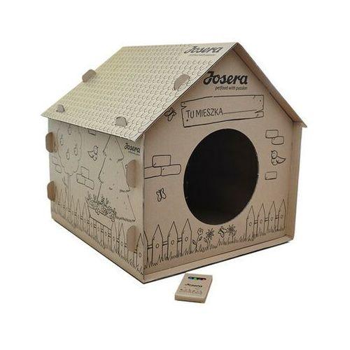 kartonowy domek do kolorowania dla kotów - darmowa dostawa od 95 zł! marki Josera