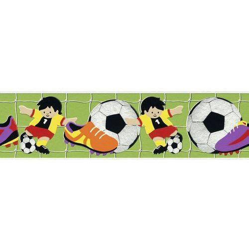 Border ścienny dziecięcy piłka nożna 471809 kids club 2014 bezpłatna wysyłka kurierem od 300 zł! darmowy odbiór osobisty w krakowie. marki Rasch
