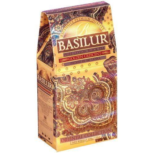 70426 100g golden crescent stożek herbata czarna liściasta | darmowa dostawa od 150 zł!, marki Basilur