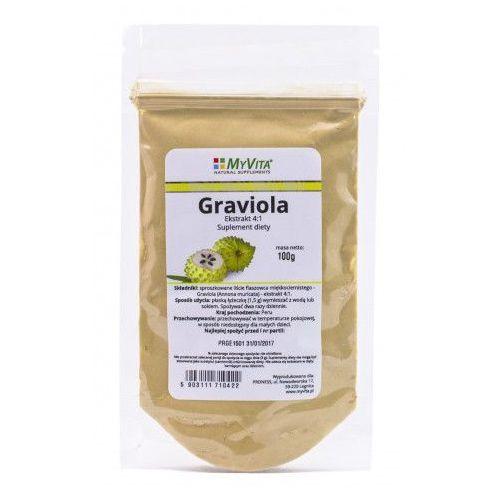 Graviola ekstrakt 4:1, 50 g marki Myvita. Najniższe ceny, najlepsze promocje w sklepach, opinie.