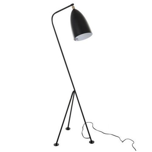 Italux Stojąca lampa podłogowa levigne mle3058/1-bk metalowa oprawa na trójnogu czarna