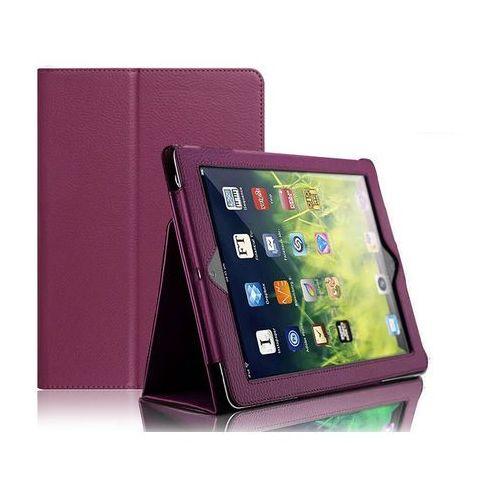 Etui Stojak Apple iPad 9.7 2017 / 2018 Fioletowe - Fioletowy, kolor fioletowy