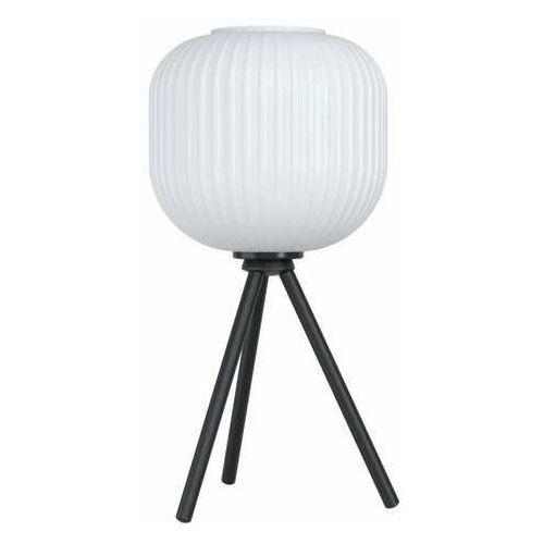 Eglo Mantunalle 99369 lampa stojąca podłogowa 1x40W E27 czarna/biała (9002759993696)