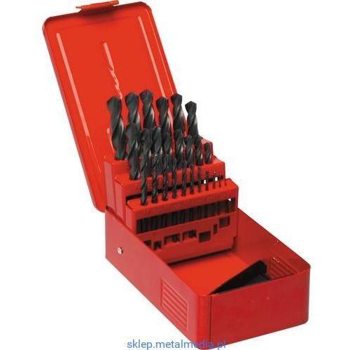 Zestaw wierteł 1-13mm x0,5mm 25szt. HSS Sherwood SHR0258500K