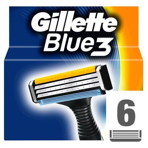Gillette  6szt blue3 wkłady do maszynki do golenia