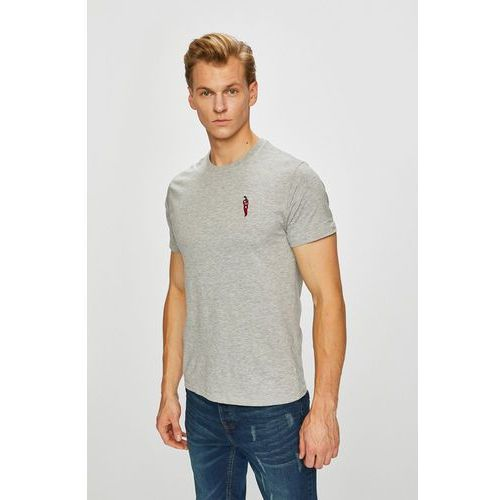 Brave Soul - T-shirt, kolor szary