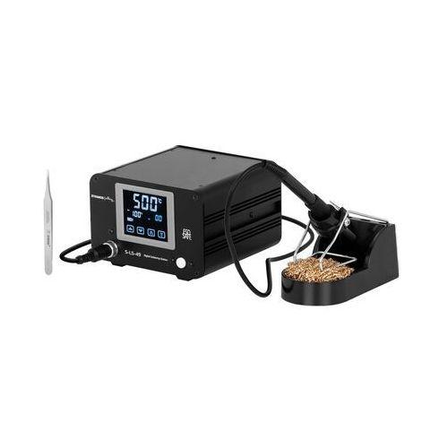 stacja lutownicza - 100 w - cyfrowa - lcd dotykowy s-ls-49 - 3 lata gwarancji marki Stamos soldering