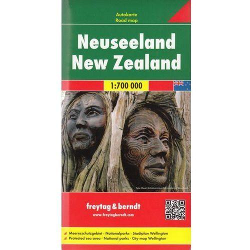 Nowa Zelandia mapa 1:700 000 Freytag & Berndt (2013)
