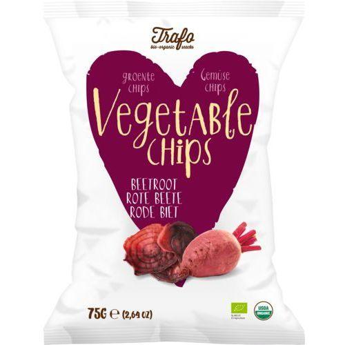 Trafo (chipsy warzywne i ziemniaczne) Chipsy z buraka czerwonego bio 75 g - trafo (8718754503921)