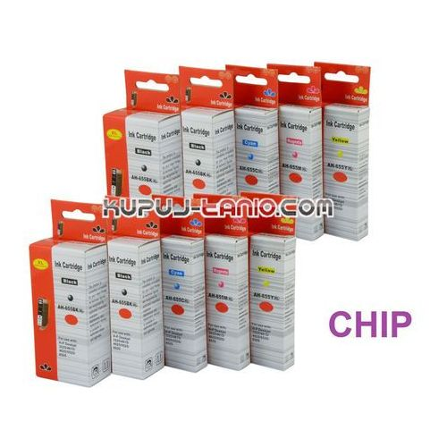 .hp 655xl (10 szt., ) tusze do hp deskjet ink advantage 5525, hp deskjet ink advantage 3525, hp deskjet ink advantage 4615 marki Arte