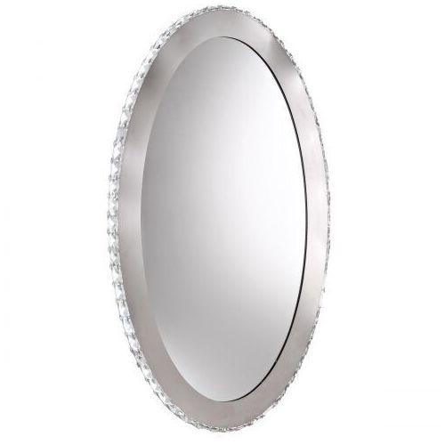 Kinkiet lustro z oświetleniem Eglo Toneria 1x36W LED 4000K owal chrom/kryształ 93948, 93948