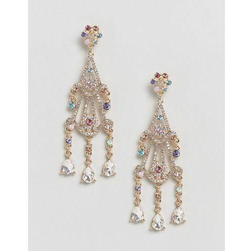 Liars & lovers filigree chandelier drop earrings - silver