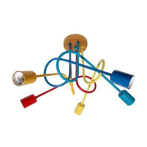 Helam Dziecięca lampa sufitowa oxford 5xe27/60w/230v (5902349214900)